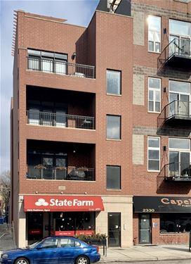 2332 W Belmont Unit 4, Chicago, IL 60618 Hamlin Park