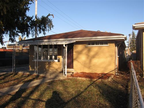 4705 S Lockwood, Stickney, IL 60638