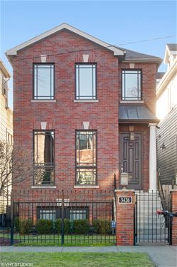3426 N Seeley, Chicago, IL 60618 Roscoe Village
