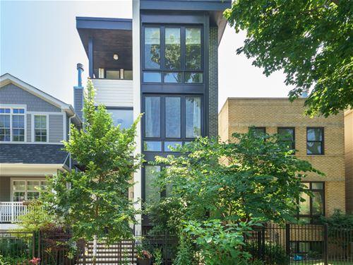 3339 N Leavitt, Chicago, IL 60618 Roscoe Village