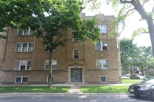 1657 W Gregory Unit 1, Chicago, IL 60640 Andersonville