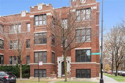 1631 W Wilson Unit 2, Chicago, IL 60640 Ravenswood