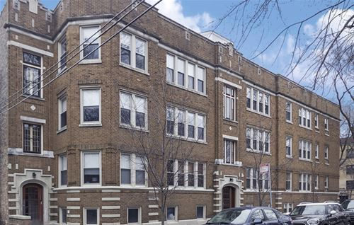 3803 N Marshfield Unit 2, Chicago, IL 60613 West Lakeview