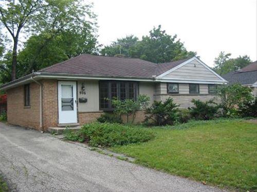 906 Meadowlark, Glenview, IL 60025