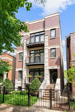 1218 W Melrose Unit 2, Chicago, IL 60657