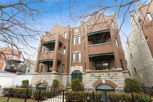 3918 N Southport Unit 1N, Chicago, IL 60613 Lakeview