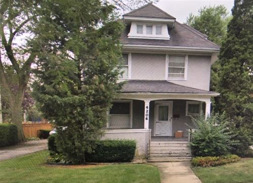 4206 Grand, Western Springs, IL 60558