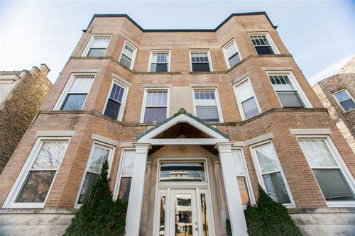3231 W Palmer Unit 2, Chicago, IL 60647 Logan Square