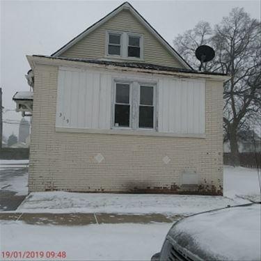 319 Pulaski, Calumet City, IL 60409