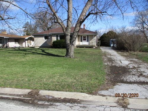 423 W 12th, Chicago Heights, IL 60411