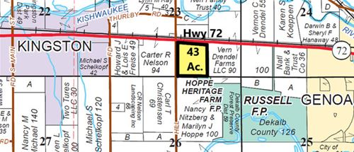 43 acres State Hwy 72, Kingston, IL 60145
