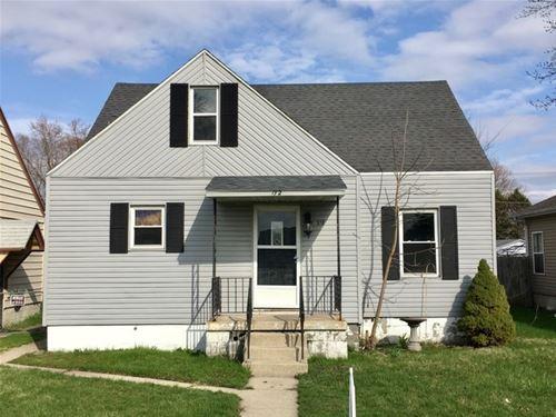 172 N Quincy, Bradley, IL 60915
