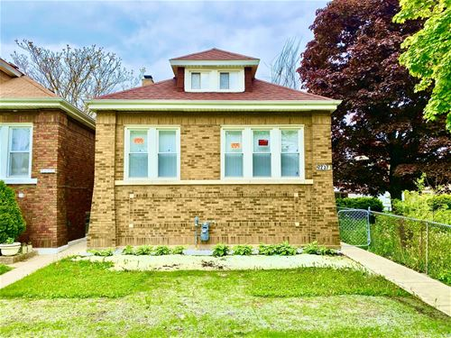 7237 S Maplewood, Chicago, IL 60629 Marquette Park