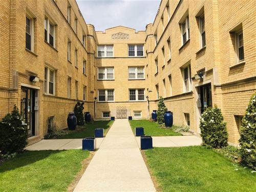1618 W Wallen Unit 1N, Chicago, IL 60626 Rogers Park
