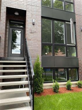 225 S Hamilton Unit 1, Chicago, IL 60612 Near West Side