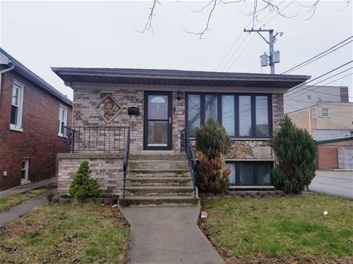 3213 N Overhill, Chicago, IL 60634 Belmont Heights