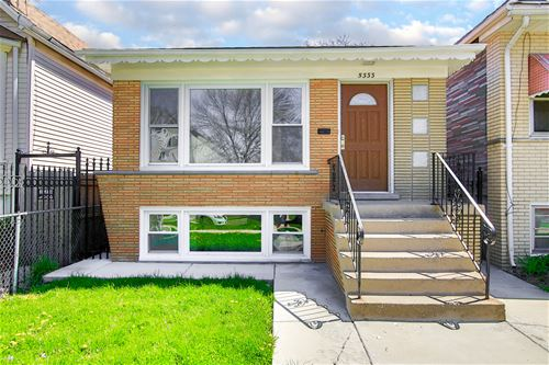 5333 S Campbell, Chicago, IL 60632 Gage Park