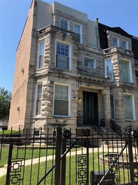4536 S Lake Park, Chicago, IL 60653 Kenwood