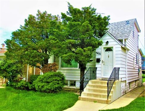 5451 N Normandy, Chicago, IL 60656 Norwood Park