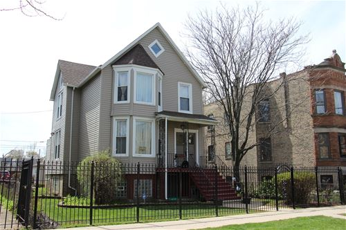 3325 W Palmer, Chicago, IL 60647 Logan Square