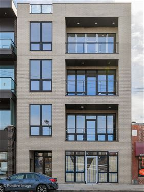 2341 W Chicago Unit 3F, Chicago, IL 60622 Ukrainian Village