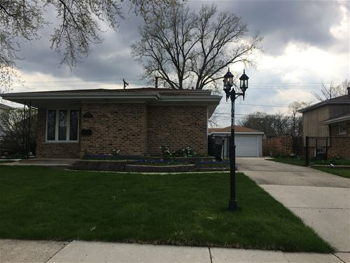 16416 George, Oak Forest, IL 60452