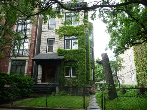 1408 W Cuyler, Chicago, IL 60613 Graceland West