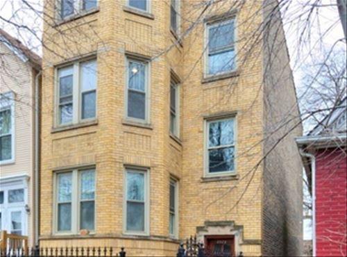 2329 W Barry Unit GARDEN, Chicago, IL 60618 Hamlin Park