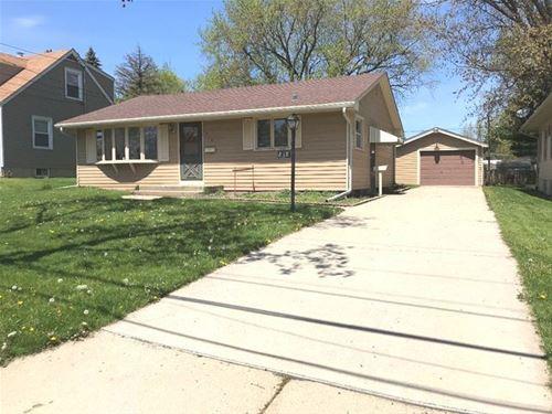 818 Adams, Elgin, IL 60123
