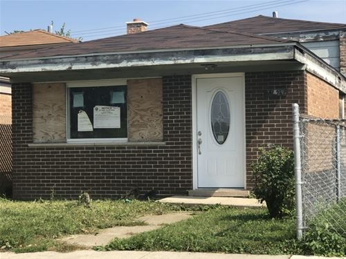 11829 S Ashland, Chicago, IL 60643 West Pullman