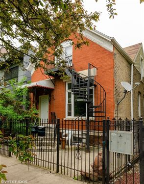 1225 N Campbell, Chicago, IL 60622 Humboldt Park