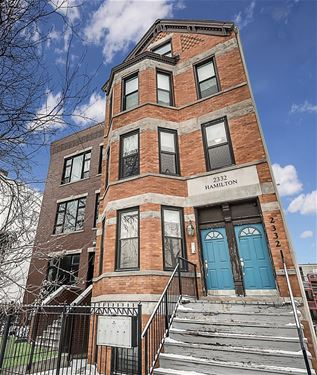 2332 N Hamilton Unit 2A, Chicago, IL 60647 Bucktown