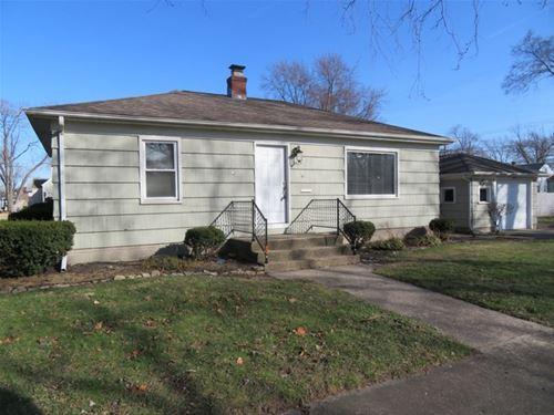 3425 S Schultz, Lansing, IL 60438