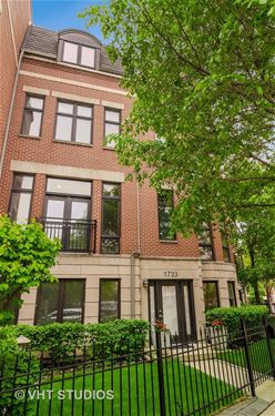 1733 W George, Chicago, IL 60657 Lakeview