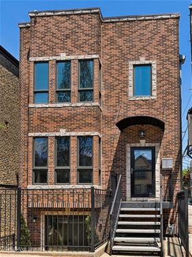 2012 W Mclean, Chicago, IL 60647 Bucktown