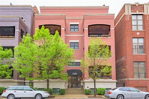 1238 W Jackson Unit 1W, Chicago, IL 60607 West Loop