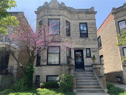 3311 W Wrightwood Unit 1, Chicago, IL 60647 Logan Square