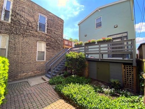 1811 W Cortland Unit COACH-HOUS, Chicago, IL 60622 Bucktown