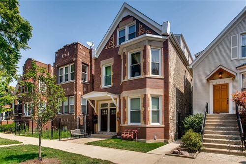 2911 N Seeley, Chicago, IL 60618 Hamlin Park