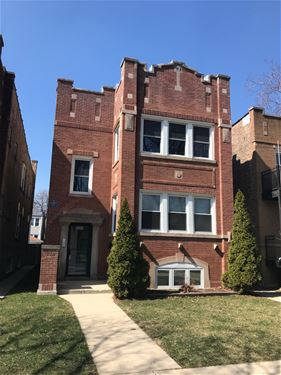 3352 N Hamlin Unit 2, Chicago, IL 60618 Avondale