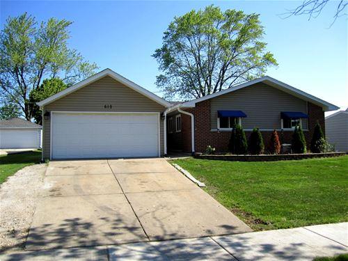 610 Northview, Hoffman Estates, IL 60169