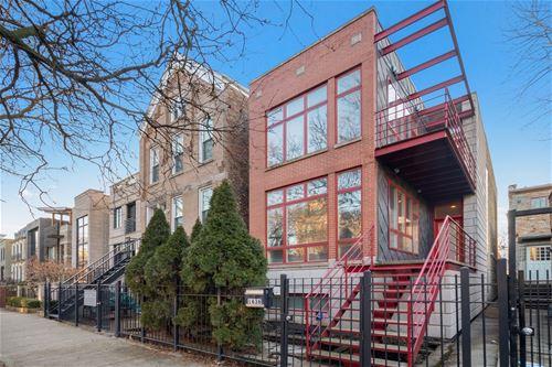 1636 N Paulina, Chicago, IL 60622 Bucktown