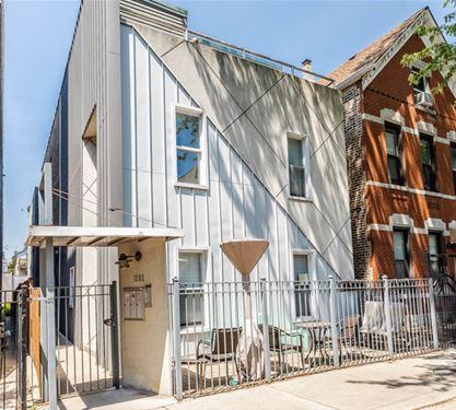 1060 N Hermitage Unit 1, Chicago, IL 60622 East Village
