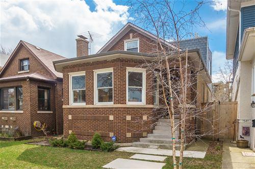 1537 W Norwood, Chicago, IL 60660 Edgewater