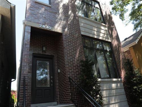 2430 W Huron, Chicago, IL 60612 Smith Park