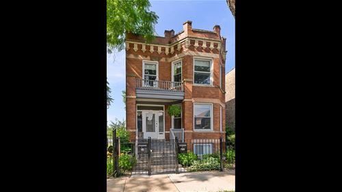 3416 W Cortland, Chicago, IL 60647 Logan Square