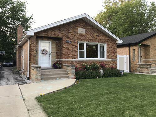 3238 W 108th, Chicago, IL 60655 Mount Greenwood