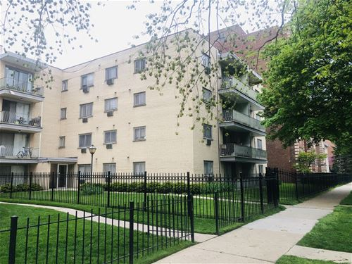1640 W Sherwin Unit 4A, Chicago, IL 60626 Rogers Park