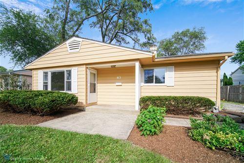 63 Birch, Carpentersville, IL 60110