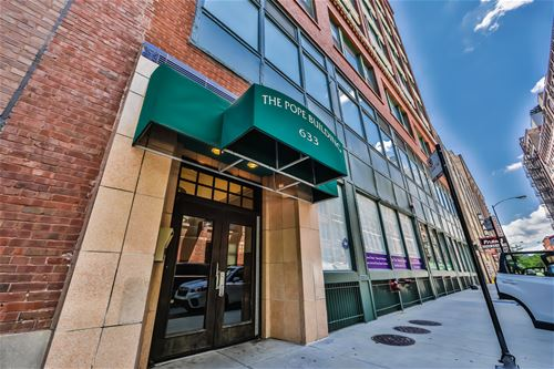 633 S Plymouth Unit 505, Chicago, IL 60605 South Loop